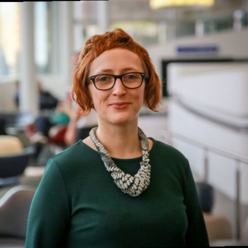 Grazyna Grzyb-Kuypers, Project Analyst, American Express 7